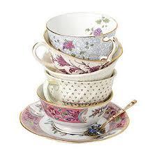 vintage china for wedding venue decoration and wedding reception