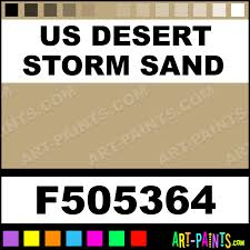us desert storm sand military model acrylic paints f505364 us