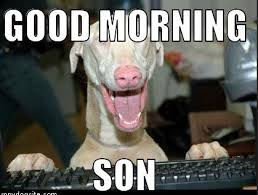Son Memes - funny good morning son meme photos good morning images