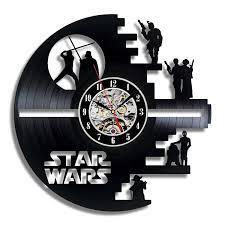 amazon com star wars death star designed wall clock decorate