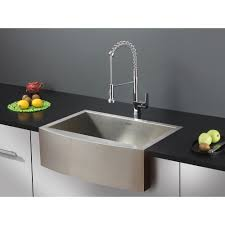 Modern Kitchen Sink Faucet Stunning Silver Color Pre Rinse Kitchen Sink Faucet With Silver