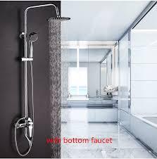 Shower Sets For Bathroom Dofaso Copper Bathroom Shower Sets Bath Tap Shower Faucet