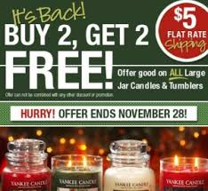 yankee candle buy 2 candles get 2 free 5 flat shipping