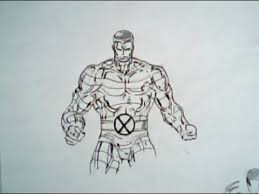 how to draw colossus from xmen marvel comics youtube
