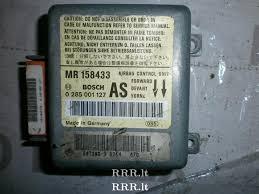 airbag control unit mr158433 mitsubishi carisma eur4785