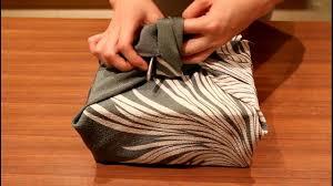 japanese wrapping method japanese furoshiki how to wrap boxes youtube