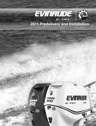 brp evinrude specifications