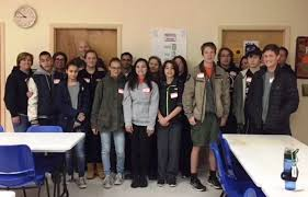 hasbrouck heights students band together to deliver thanksgiving