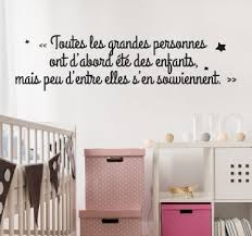 stickers citations chambre stickers citation enfant tenstickers