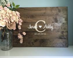 wedding sign in books wedding guest books etsy