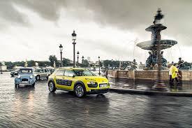 car leasing france citroen c4 cactus meets its 2cv ancestor in paris by car magazine