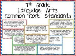 common core language arts worksheets 7th grade kristal project
