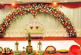 ideas about background decoration for wedding purpose