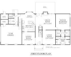 A Floor Plan by Houseplans Biz House Plan 2889 A The Rockingham A