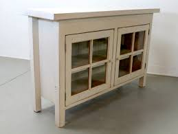 Stereo Cabinets With Glass Doors Awesome Winslow Glass Door Media Stand Pottery Barn Pertaining To