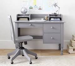 Small Desks Storage Desk Low Hutch Pottery Barn