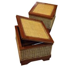 wicker storage ottoman u2013 home improvement 2017