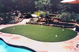 Backyard Golf Hole by 25 Golf Backyard Putting Green Ideas Designing Idea