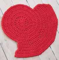 Easy Crochet Oval Rug Pattern Over 50 Free Crochet Rug Patterns And Tutorials At Allcrafts Net