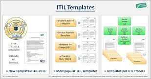 incident report template itil free itil templates and checklists updated pin https de