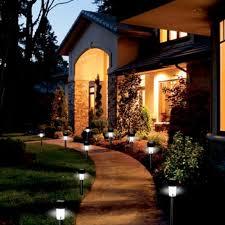 Solar Lights For The Garden Set Of 6 Elegant Black 12 U2033 Solar Garden Lights 9 99 Free