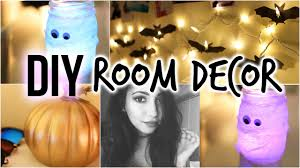 Halloween House Decorations Uk by Diy Halloween Room Decor Youtube