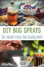 homemade bug spray recipes that work wellness mama