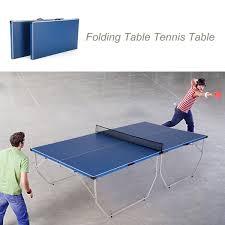 portable ping pong table lixada folding table tennis table ping pong table indoor outdoor