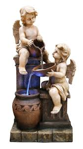 16 best angel fountains images on pinterest cherub water