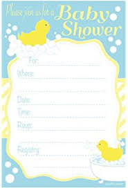duck baby shower invitations rubber ducky baby shower invitations kitchen dining