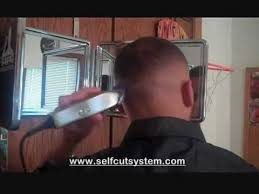 how to give yourself a haircut how to give yourself a fade haircut with the self cut system youtube
