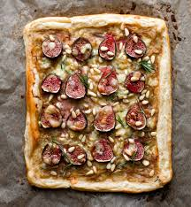 fig tart with caramelized onions rosemary and stilton recipe