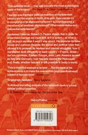 the anatomy of fascism amazon co uk robert o paxton