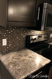 affordable kitchen backsplash brown mosaic tile backsplash sample glass brown beige mosaic tile