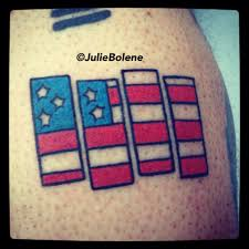 Black Flag Tattoos Black Flag American Flag Tattoo Julie Bolene Tattoos By Julie
