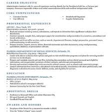Example Of Resume In English by Bright Idea Examples Of Resumes 15 Free Resume Samples Writing