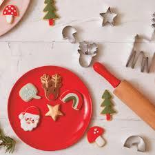 mini christmas cookie cutters meri meri small cookie cutter