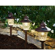Outdoor Solar Lights On Sale by Better Homes And Gardens Crestwood Cove Solar Powered Landscape