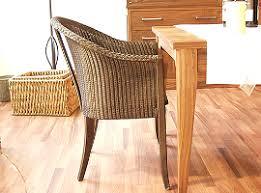 korbstühle esszimmer rattania loommöbel original lloyd loom