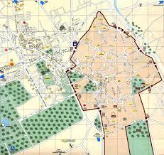 Marrakech Map World by The Town Of Marrakech