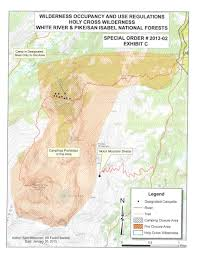 Avon Colorado Map by Holy Cross Mount Of The Climbing Hiking U0026 Mountaineering