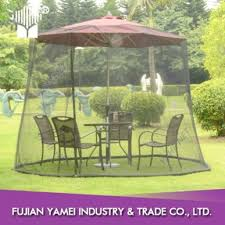 Mosquito Netting For Patio Umbrella Offset Patio Umbrella With Mosquito Net Patio Designs