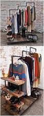 diy clothing rack 30 minute project would be great to make for