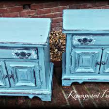shop painted nightstands on wanelo