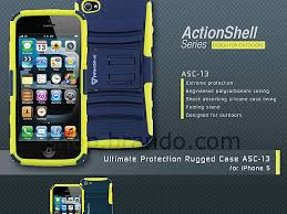 x action shell series rugged case for iphone 5 5s