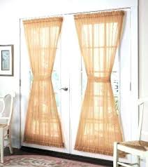Slider Door Curtains Sliding Door Curtains Modernize Your Sliding Glass Door With
