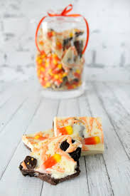 candy corn oreo bark the simple sweet life