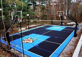 Backyard Sports Court by Maryland Flexcourt Gallery