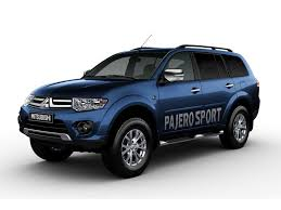 mitsubishi blue mitsubishi pajero sport price review mileage features