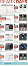 sears weekly flyer major appliances furniture u0026 mattresses